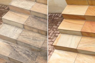 Sandstone Steps Get Brand New Look